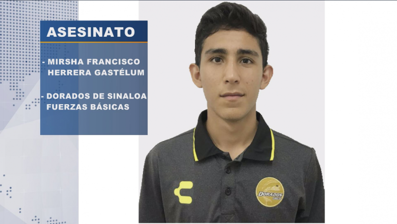Vinculan a proceso a joven señalado de asesinar a futbolista de Dorados