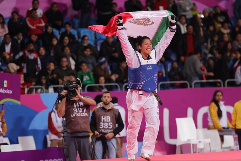 Briseida Acosta gana oro en TKD en Los Juegos Panamericanos de Lima 2019