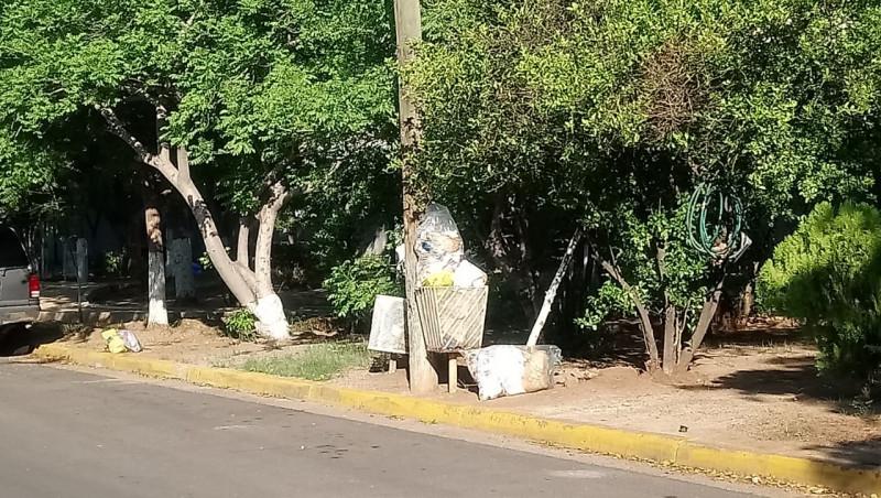 Sin pasar el carro de la basura en el sector CANACO