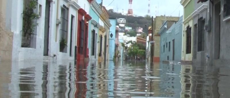 Exhorta PC cuidar a menores en temporada de lluvias