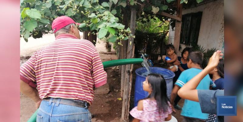 Trabajan para solucionar el servicio del agua en Pueblo Yaqui