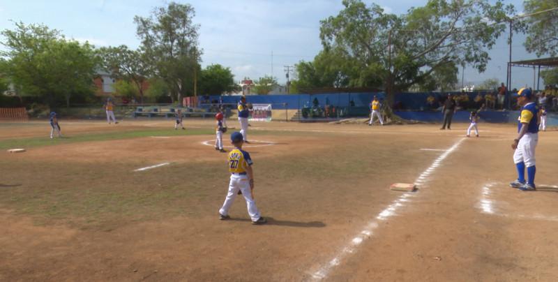 Continúan las acciones en el Torneo Nacional de Beisbol Categoría Escuelita