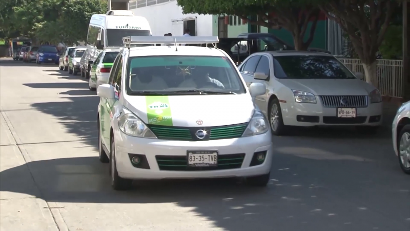 UBER operan sin ser sancionados en Mazatlán: Ecotaxis verdes