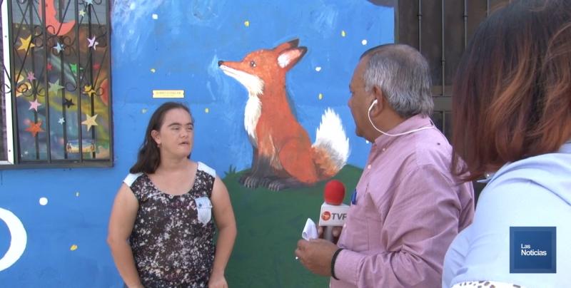 Anabel quiere que su callejón sea parte del programa Callejones al Cien