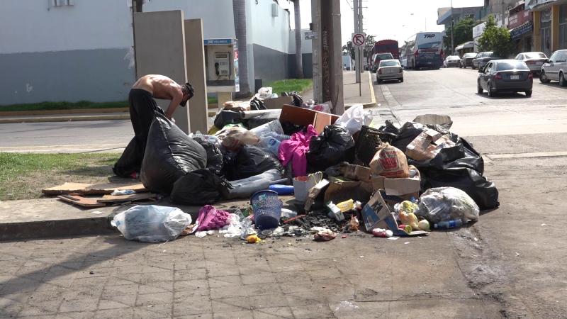 Foco de contaminación y pésima imagen turística