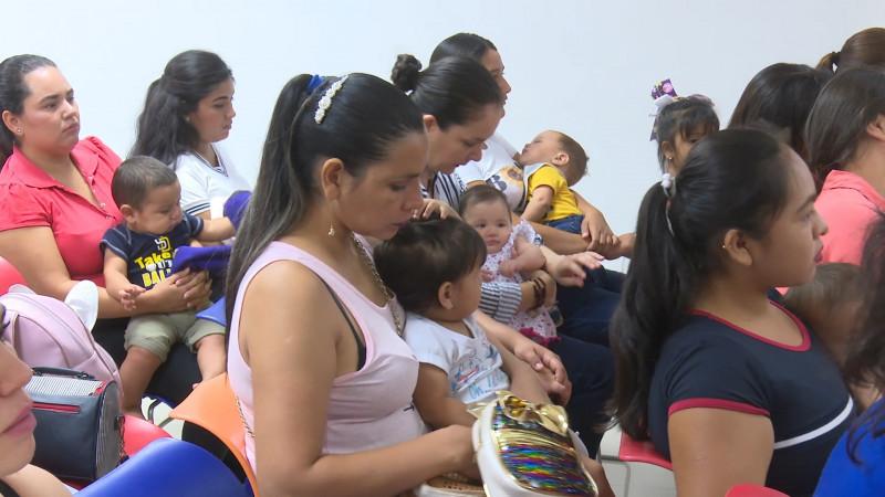 Promueven entre madres ahomenses la lactancia materna