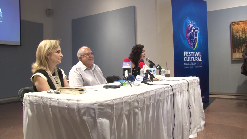 Se dio a conocer la cartelera del Festival Cultural Mazatlán 2019