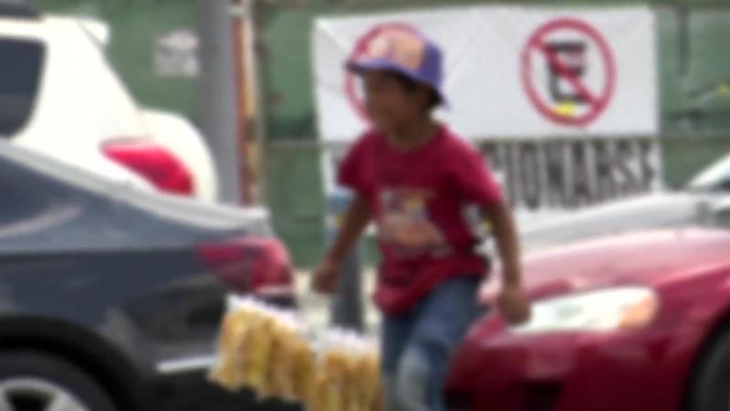 Llevan al límite al DIF casos por trabajo infantil