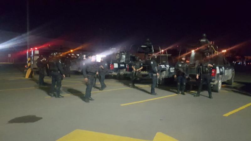 Fuerzas Federales y Estatales, realizan operativo conjunto