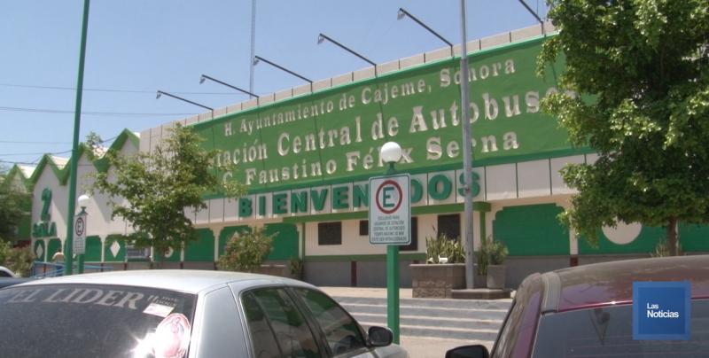Dan resultados las acciones conjuntas de la seguridad en la central camionera de Ciudad Obregón
