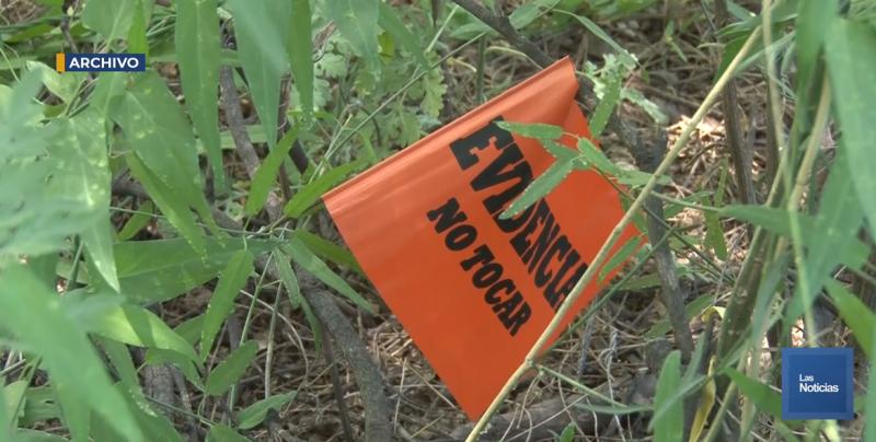 Rastreadoras de Ciudad Obregón encuentran restos de lo que pudiera ser el cuerpo de una mujer