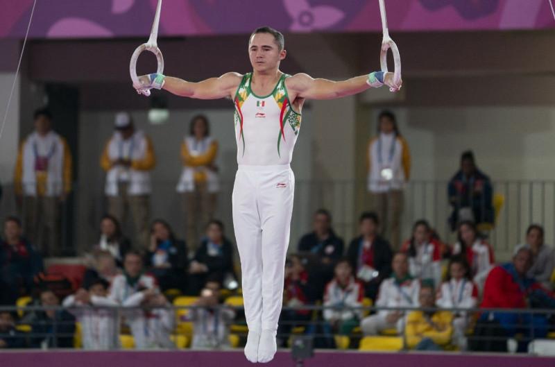 Motivado Fabián Luna Gimnasta de la UAS por medalla de oro en Panamericanos