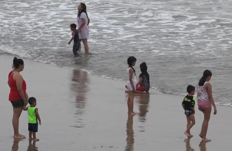 Salvavidas señala playas peligrosas por alto oleaje