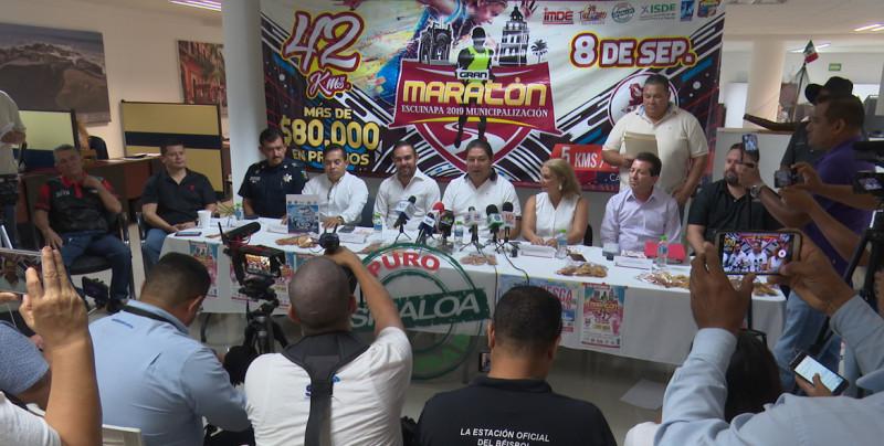 Escuinapa festejará su aniversario con un Maratón