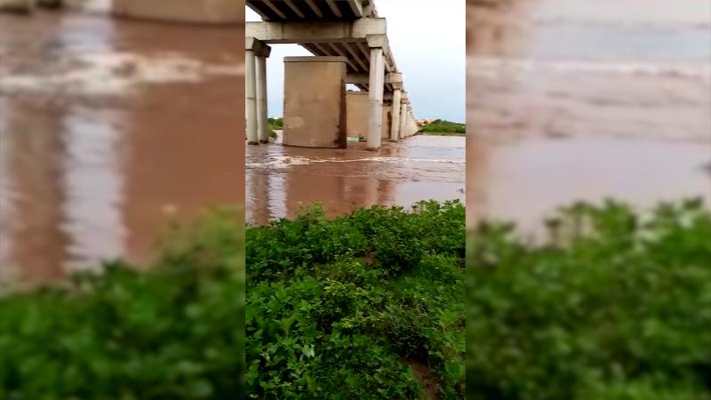 Lluvias provocan desbordamiento de Ríos y canales: Meteorológico