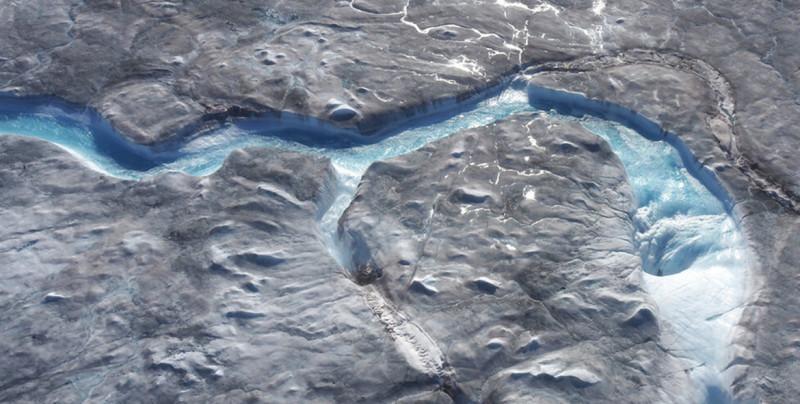 Captan en video el rápido deshielo en Groenlandia