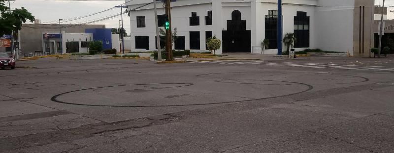 Amanecen marcas de vueltas policiacas sobre la Obregón y Ciudades Hermanas
