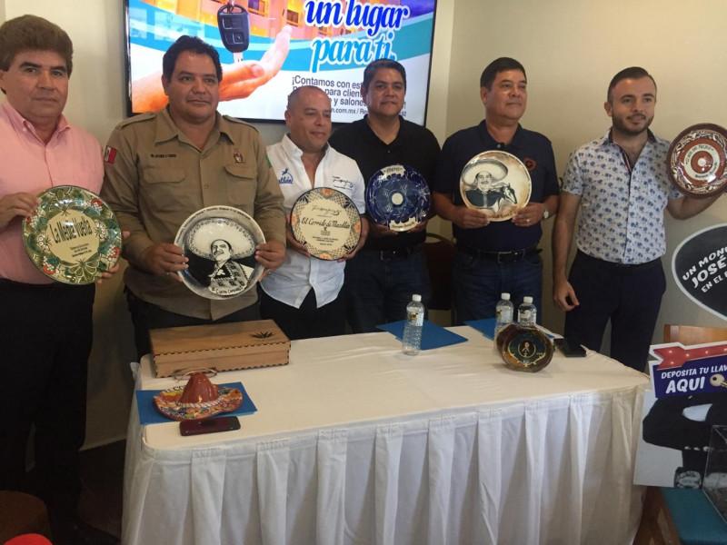 Se fortalece proyecto del monumento a José Alfredo Jiménez en Mazatlán