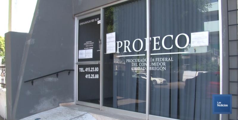 Tras cierre de Profeco en Cajeme reprograman 90 audiencias en Hermosillo