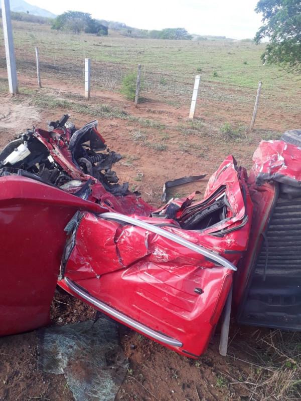 Accidente en carretera deja tres muertos