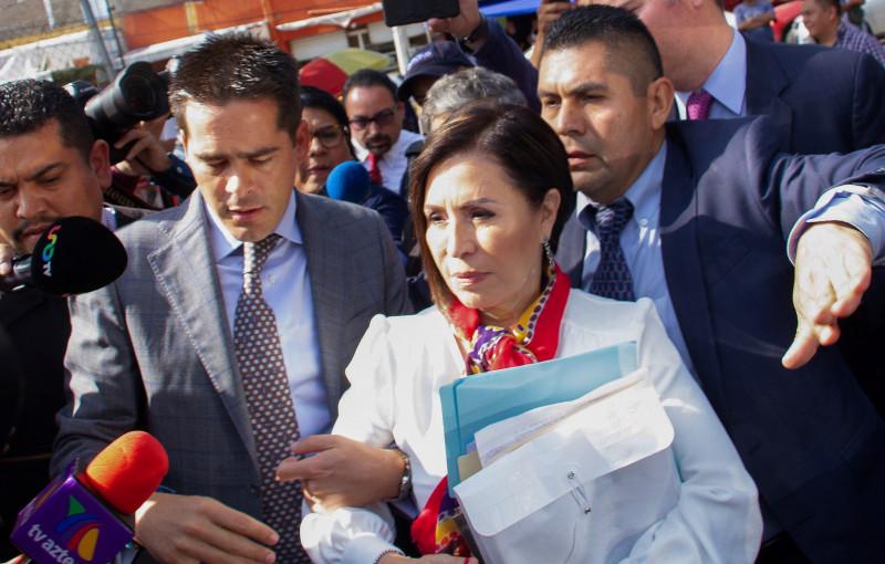 """Rosario Robles a prisión preventiva """"Por estafa maestra"""""""