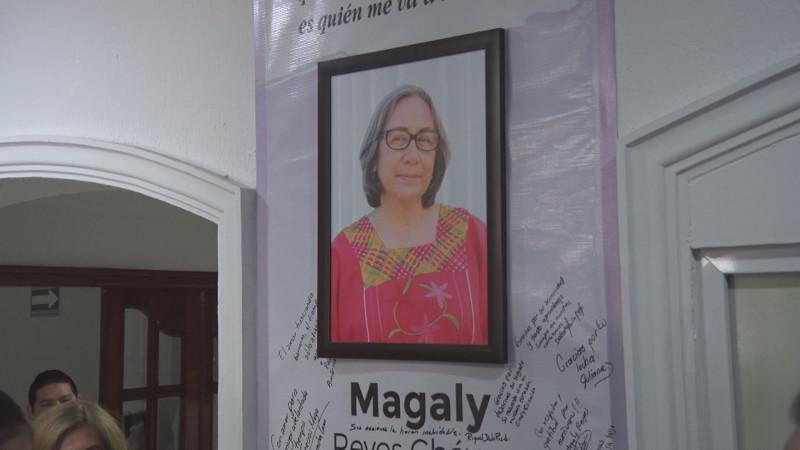Rinden homenaje a Magaly Reyes Chávez