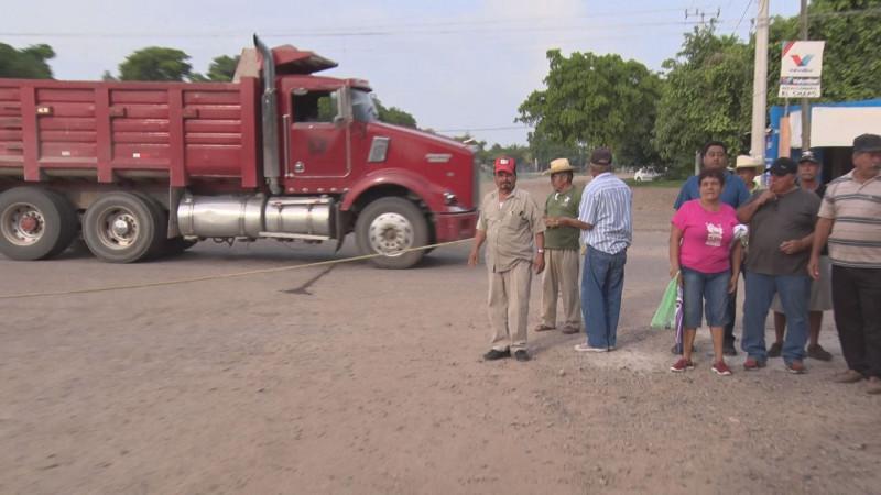 Habitantes de Aguaruto piden atención de Autoridades Municipales