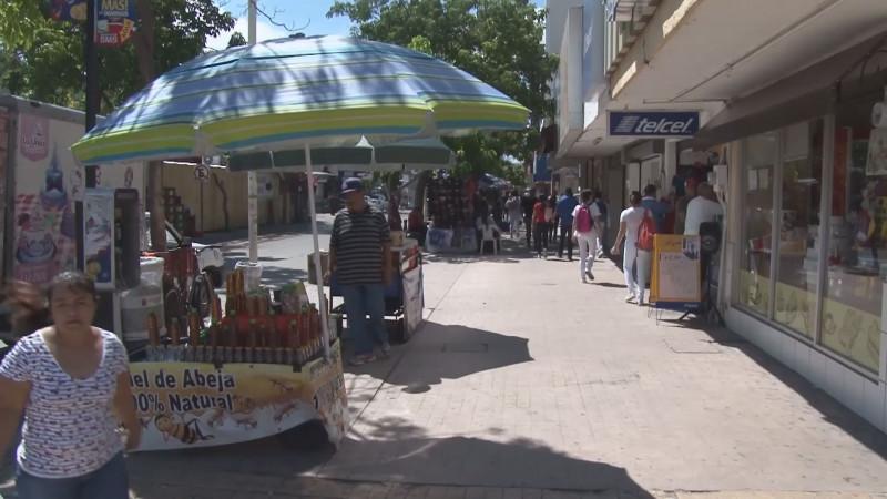 Rescatan los empresarios centro de Culiacán