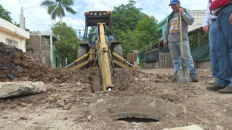 Nueva pavimentación en la Tabachines
