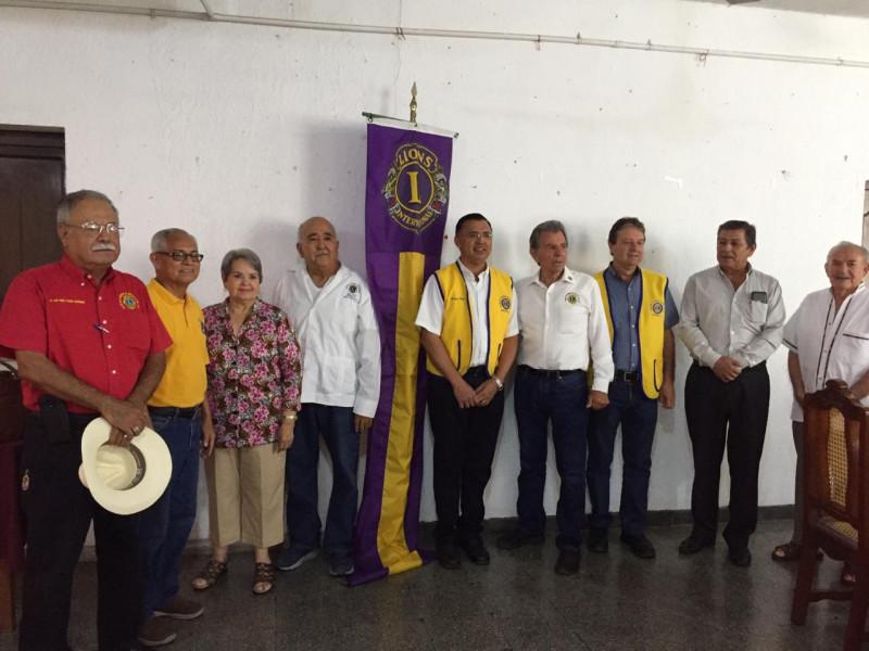 Plática informativa sobre diabetes a socios leones de Mazatlán