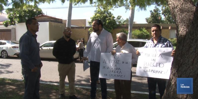 Interponen amparo en contra del cierre de la Casa de la Cultura Jurídica en Cajeme
