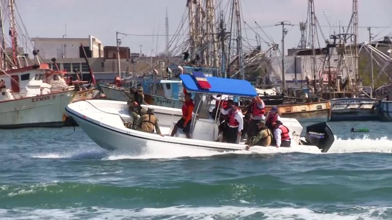 CONAPESCA logra el decomiso de 1.6 toneladas de productos marinos