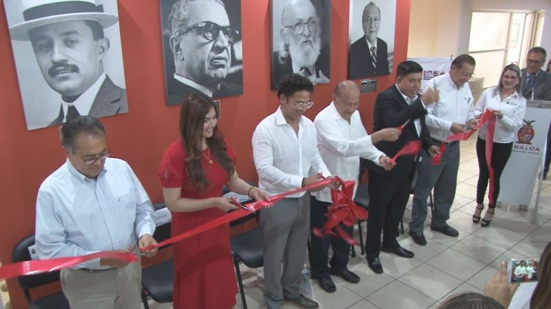 """Inauguran galería """"Personajes Ilustres de la Alfabetización"""" en el ISEA"""