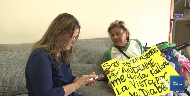 Tras vivir una tragedia, mujer solicita apoyo para llegar a Aguascalientes