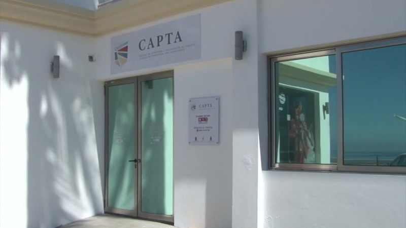 Dejan 'solas' las oficinas de CAPTA para asistir a evento protocolario