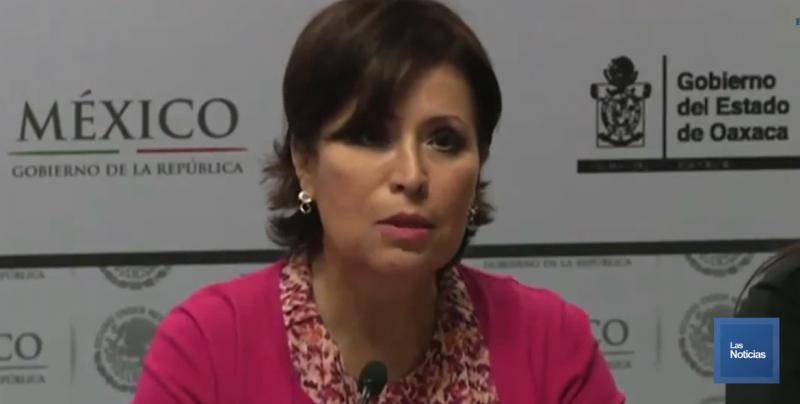 Circula en redes supuesta carta de Rosario Robles, se dice víctima