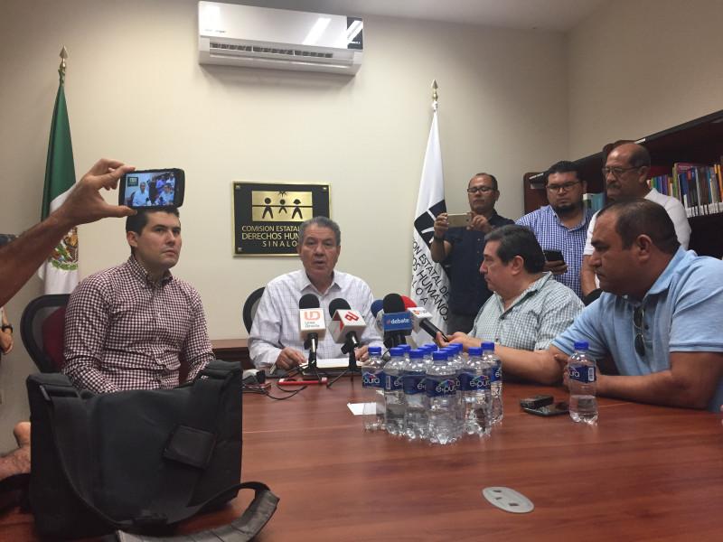 Periodistas de la APS presentan queja ante la CEDH de Sinaloa