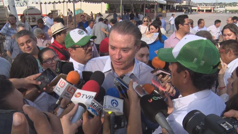 Respeta el gobernador de Sinaloa el trabajo de Alcaldes y Periodistas