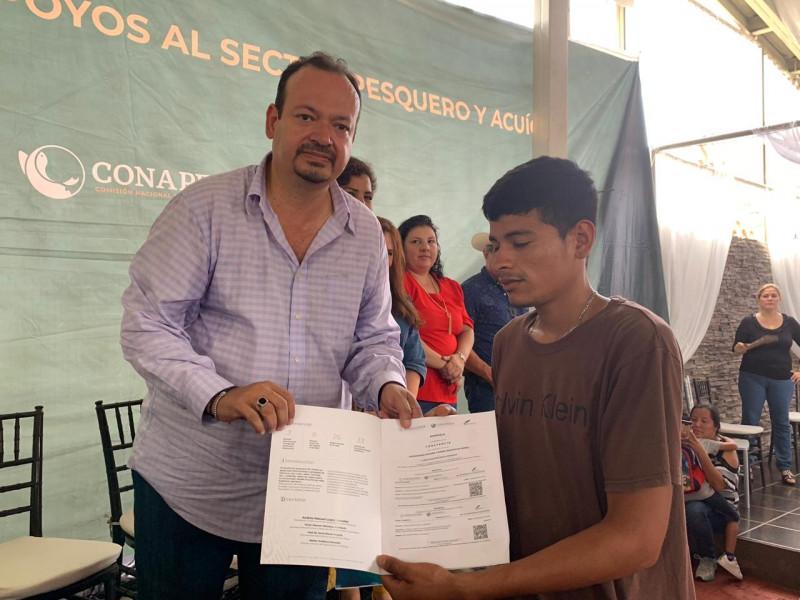 Mil pescadores en Mazatlán se benefician con el programa Bienpesca