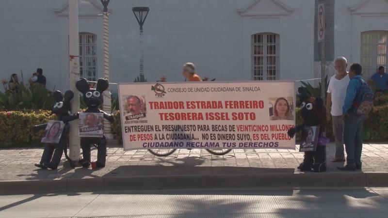 Exige Consejo de Unidad Ciudadana que Estrada Ferreiro de a conocer destino de recursos de becas y del asilo