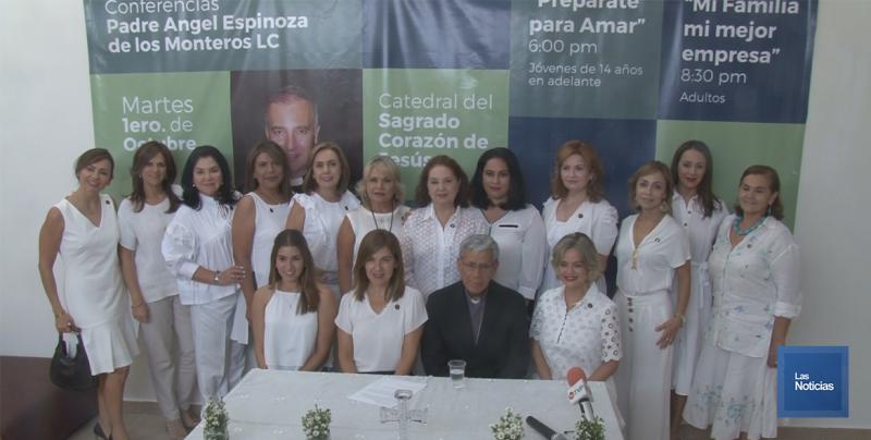 Diócesis de Cd. Obregón invita a conferencia a beneficio del Centro de Formación de Líderes Laicos