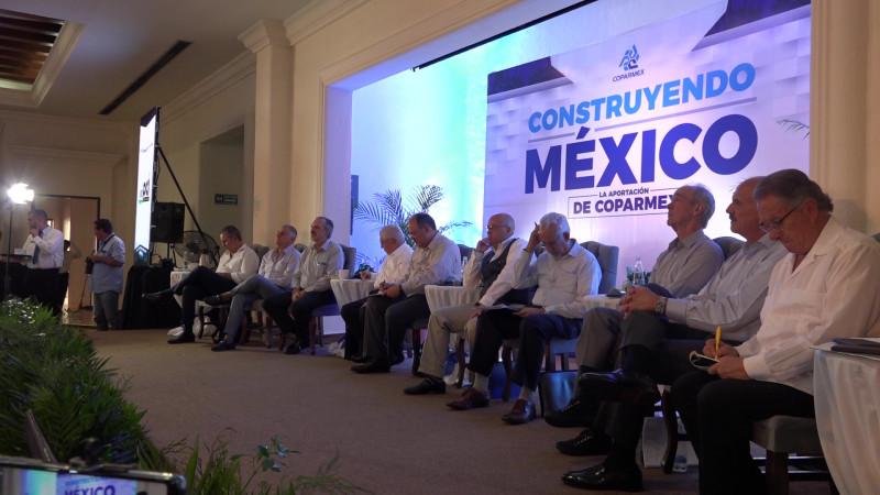 Llega a Mazatlán la gira 'Construyendo México' de Coparmex