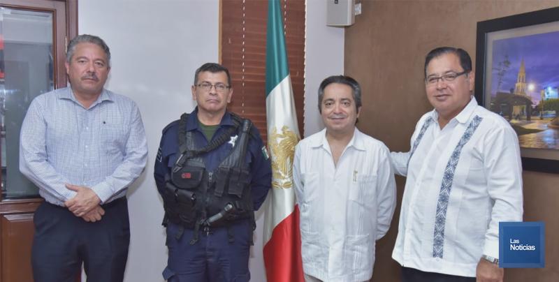 Cano Castro enlace de Cajeme con consejo Nacional de Seguridad Pública