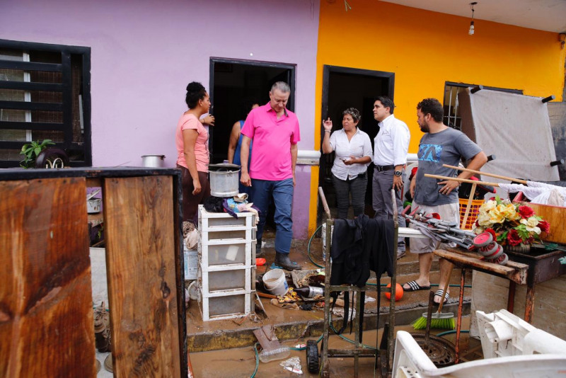 Quirino ordena acciones emergentes para atender a afectados por lluvias