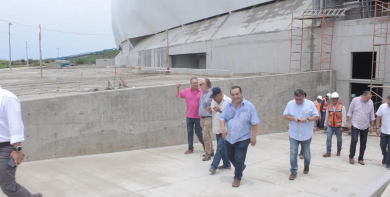 Estadio de futbol de Mazatlán a un 70%: Gobernador