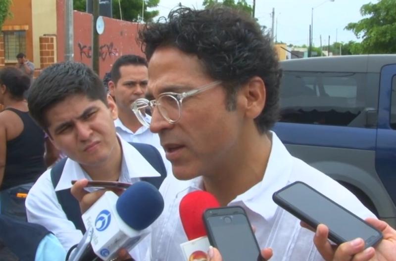 6 escuelas afectadas por lluvias en Mazatlán
