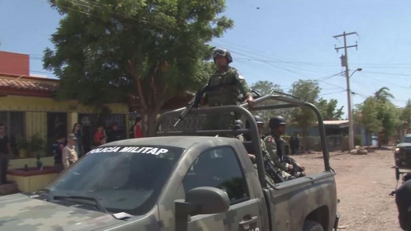 La Guardia Nacional está apoyando la seguridad en Badiraguato