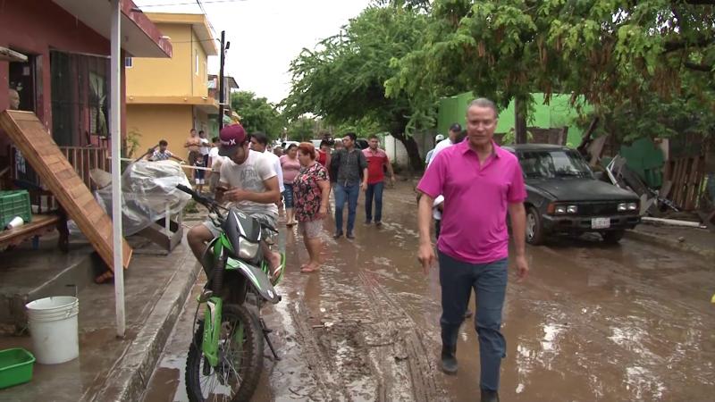 Gobernador compromete apoyos en zonas afectadas