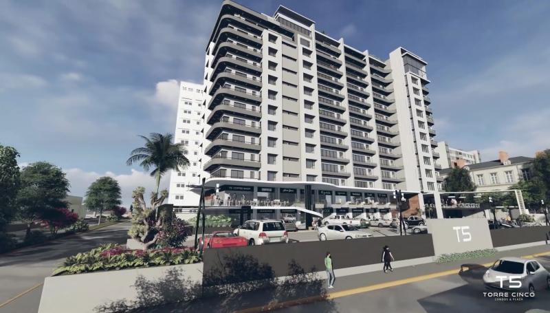 Colocan primera piedra de desarrollo inmobiliario Torre 5