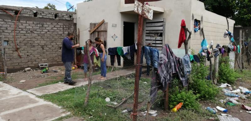 """Realizan acciones sanitarias en zonas afectadas por """"Ivo"""""""